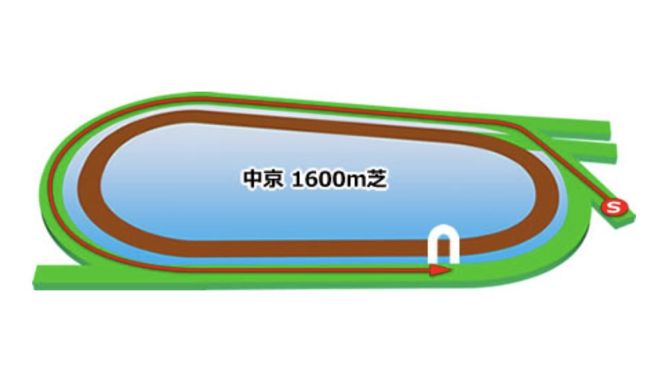 【中京】芝1600mコースイメージ