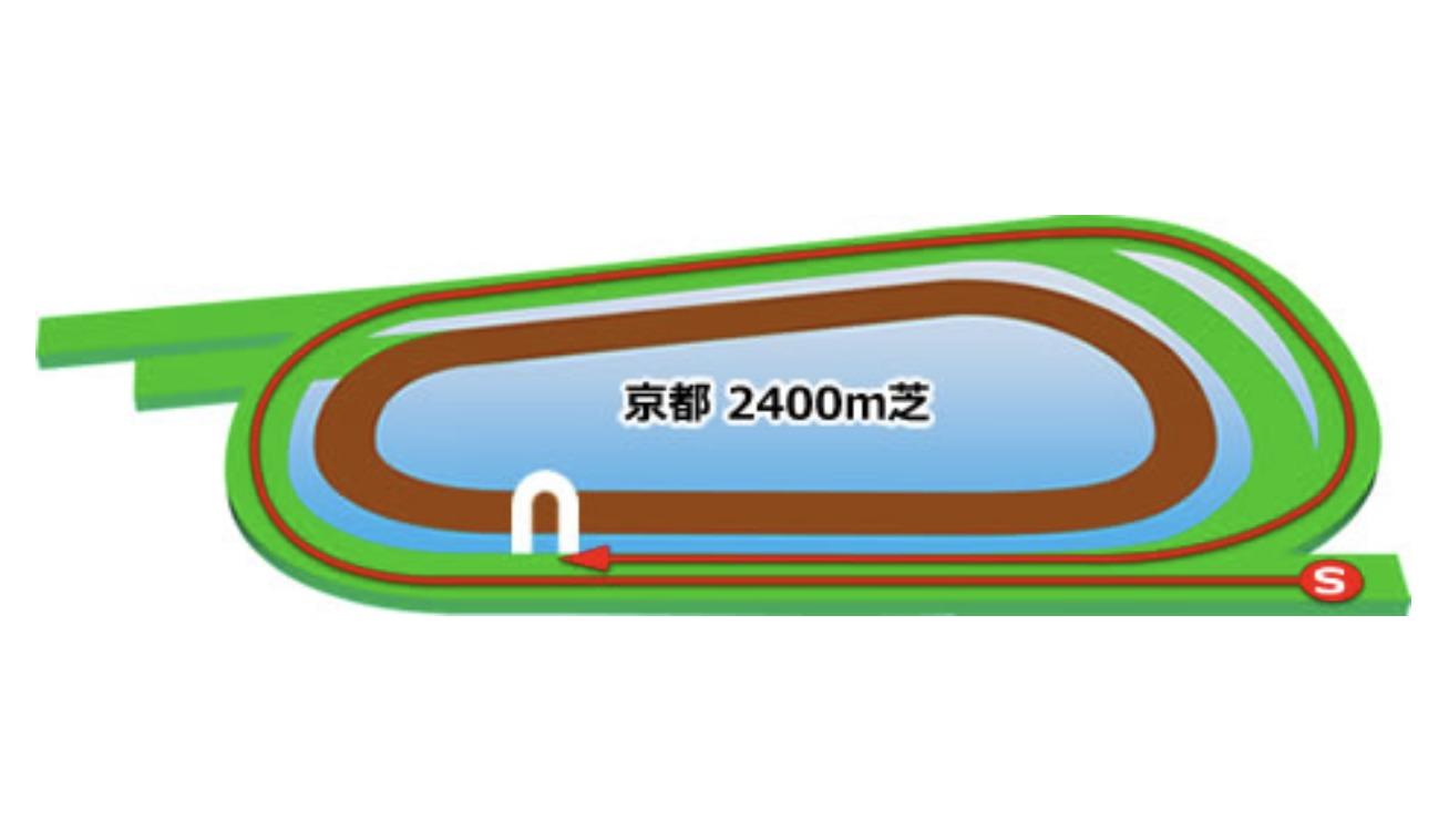 【京都】芝2400mコースイメージ