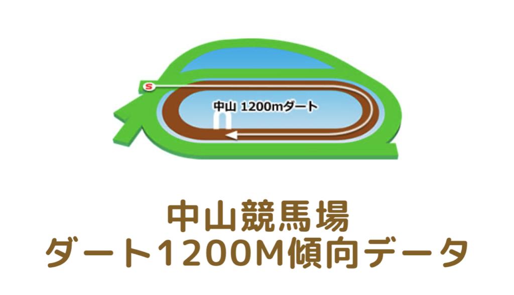 中山競馬場|ダート1200mの傾向データ(血統・枠・騎手・タイム・人気・脚質)