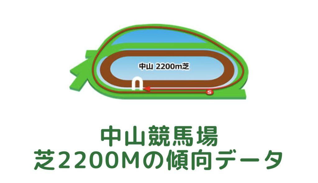 中山競馬場|芝2200mの傾向データ(血統・枠・騎手・タイム・人気・脚質)