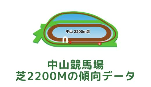 中山芝2200mの傾向データと特徴[2021年版]