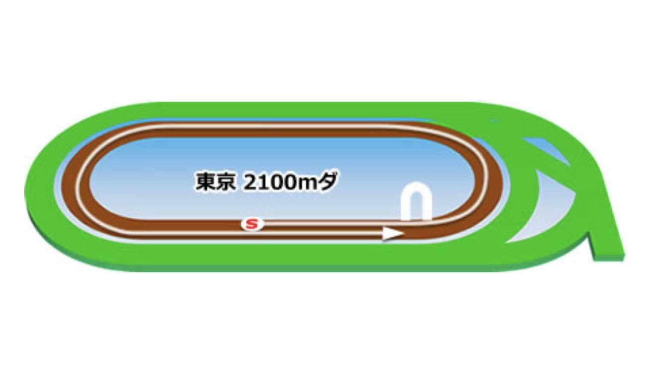 【東京】ダート2100mコースイメージ