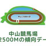 中山競馬場|芝2500mの傾向データ(血統・枠・騎手・タイム・人気・脚質)
