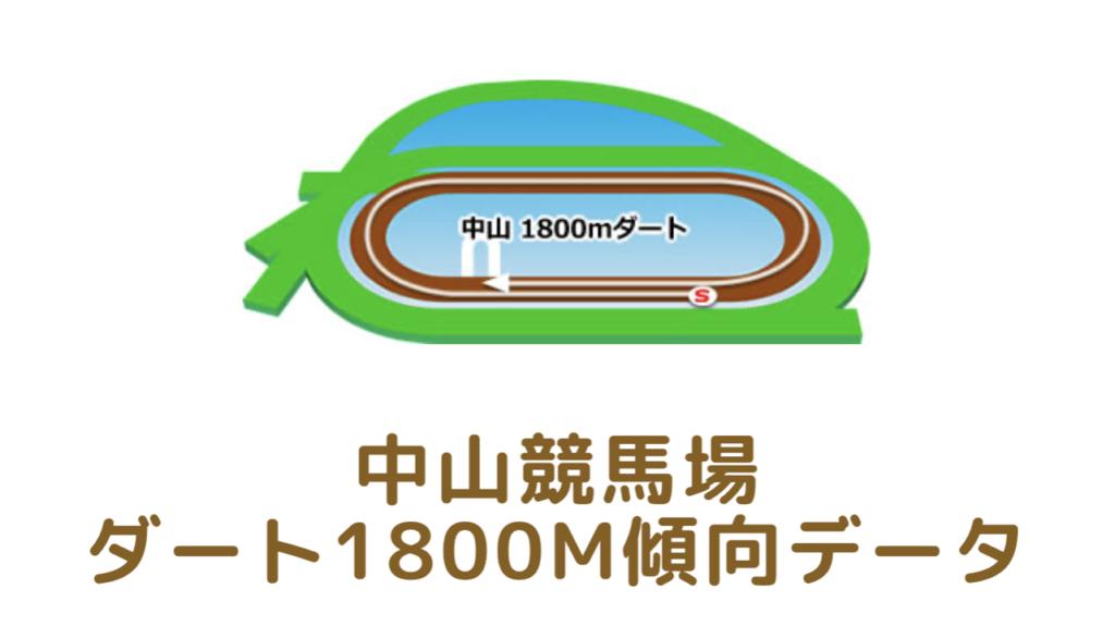 中山競馬場|ダート1800mの傾向データ(血統・枠・騎手・タイム・人気・脚質)