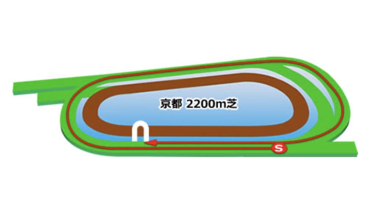 【京都】芝2200mコースイメージ