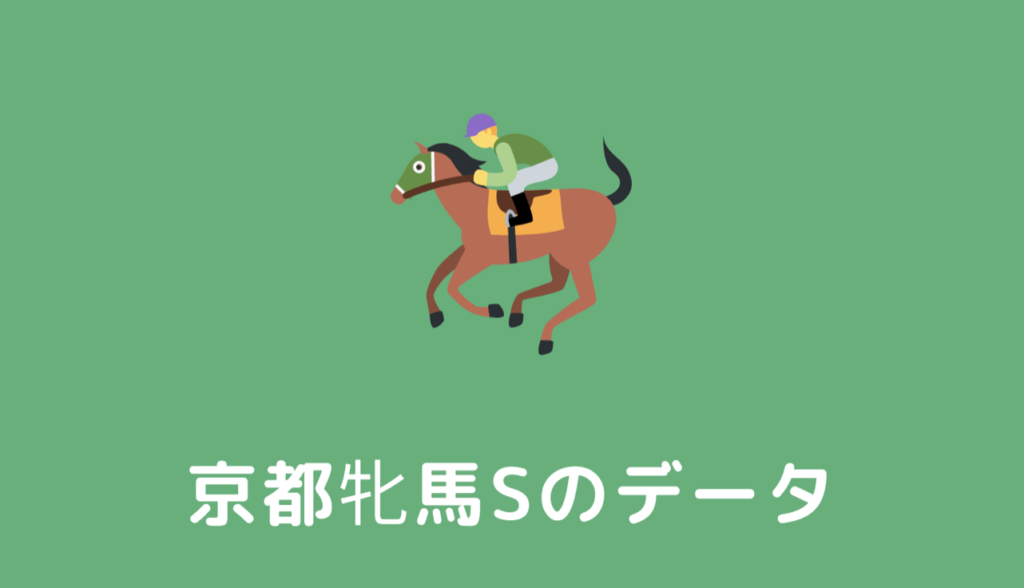 京都牝馬ステークスの馬券予想の根拠データと分析(過去10年の傾向と対策)