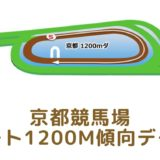 京都競馬場|ダート1200mの傾向データ(血統・枠・騎手・タイム・人気・脚質)