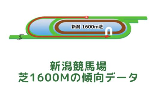 新潟芝1600mの傾向データと特徴[2021年版]