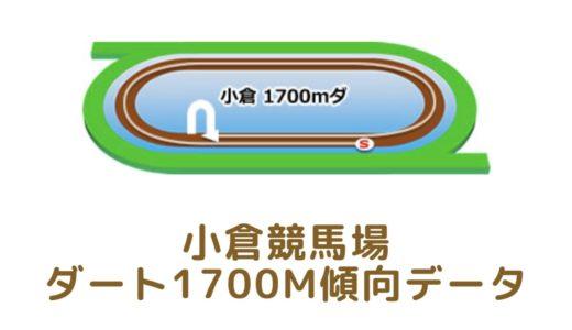 小倉ダート1700mの傾向データと特徴[2021年版]