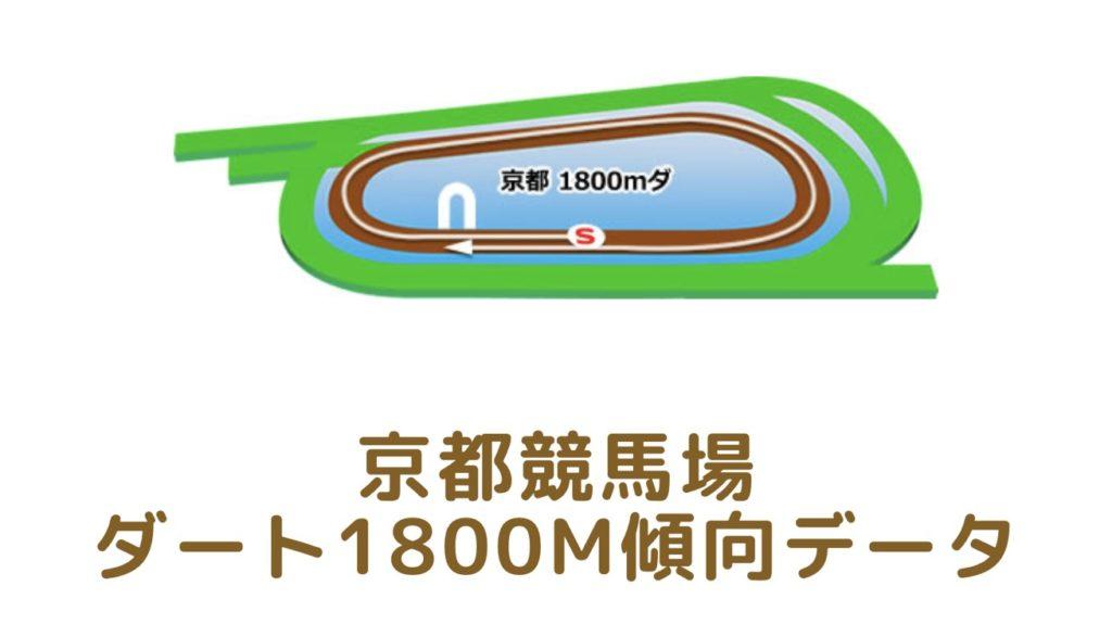 京都競馬場 ダート1800mの傾向データ(血統・枠・騎手・タイム・人気・脚質)