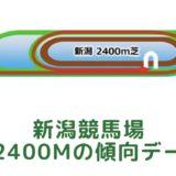 新潟競馬場|芝2400mの傾向データ(血統・枠・騎手・タイム・人気・脚質)