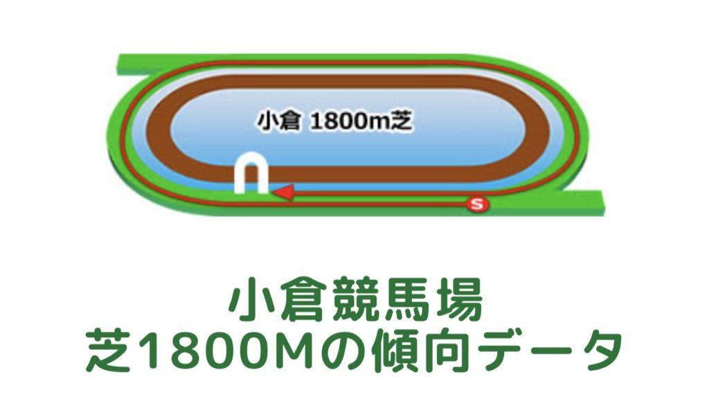 小倉競馬場|芝1800mの傾向データ(血統・枠・騎手・タイム・人気・脚質)