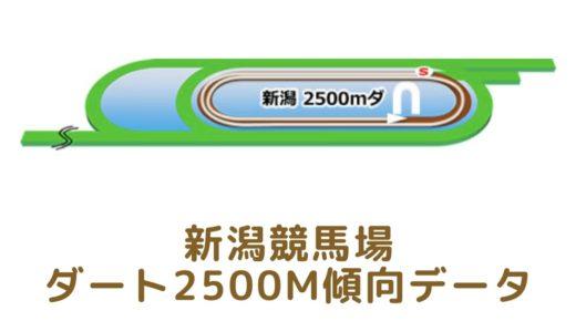 新潟ダート2500mの傾向データと特徴[2021年版]