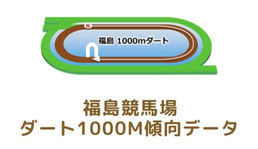 福島ダート1000mの傾向データと特徴[2021年版]