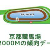京都競馬場 芝2000mの傾向データ(血統・枠・騎手・タイム・人気・脚質)