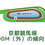 京都競馬場 芝1600m(外)の傾向データ(血統・枠・騎手・タイム・人気・脚質)