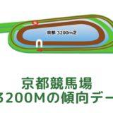 京都競馬場|芝3200mの傾向データ(血統・枠・騎手・タイム・人気・脚質)