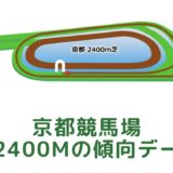 京都競馬場|芝2400mの傾向データ(血統・枠・騎手・タイム・人気・脚質)