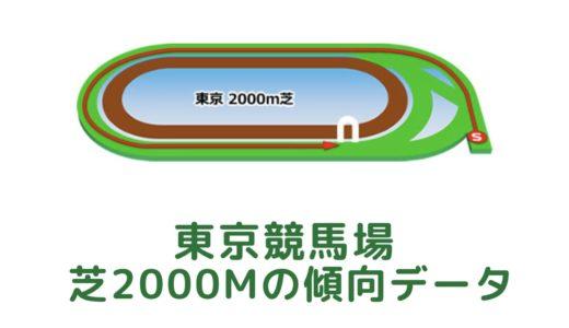 東京芝2000mの傾向データと特徴[2021年版]