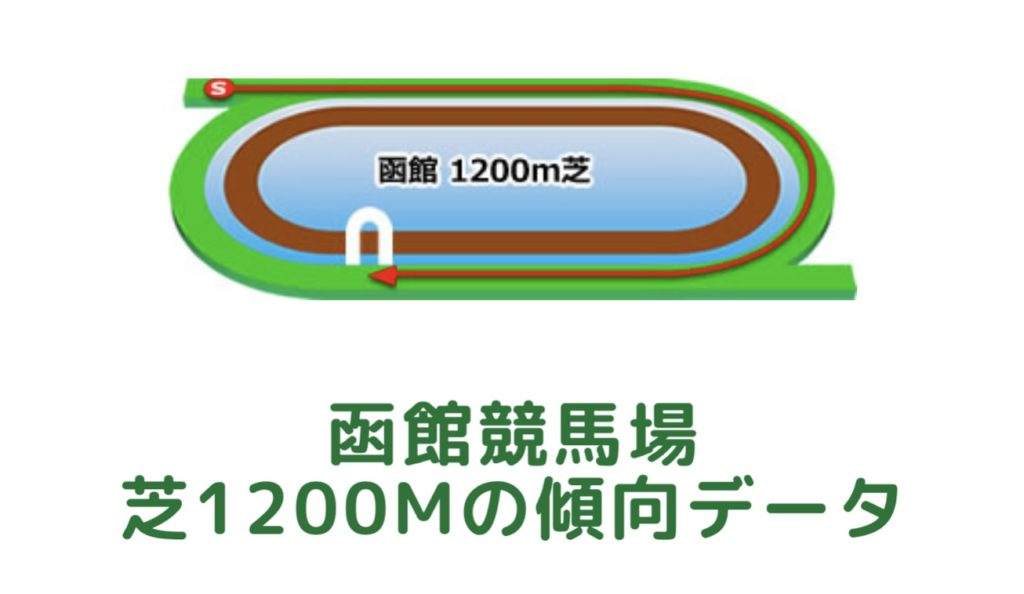 函館競馬場|芝1200mの傾向データ(血統・枠・騎手・タイム・人気・脚質)