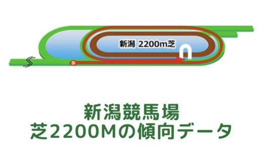 新潟芝2200mの傾向データと特徴[2021年版]