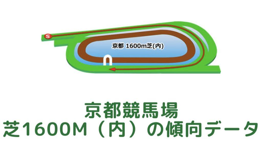 京都競馬場 芝1600m(内)の傾向データ(血統・枠・騎手・タイム・人気・脚質)