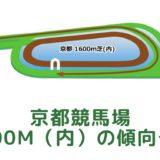 京都競馬場|芝1600m(内)の傾向データ(血統・枠・騎手・タイム・人気・脚質)