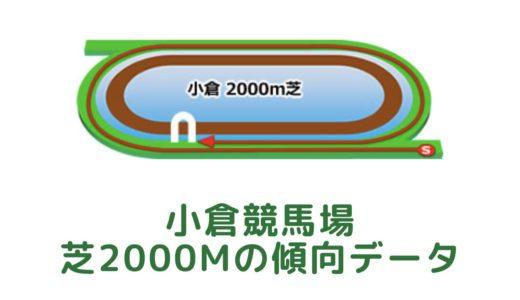 小倉芝2000mの傾向データと特徴[2021年版]