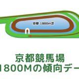 京都競馬場|芝1800mの傾向データ(血統・枠・騎手・タイム・人気・脚質)