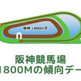 阪神競馬場|芝1800mの傾向データ(血統・枠・騎手・タイム・人気・脚質)