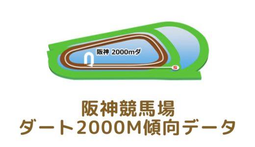 阪神ダート2000mの傾向データと特徴[2021年版]