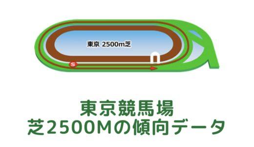 東京芝2500mの傾向データと特徴[2021年版]