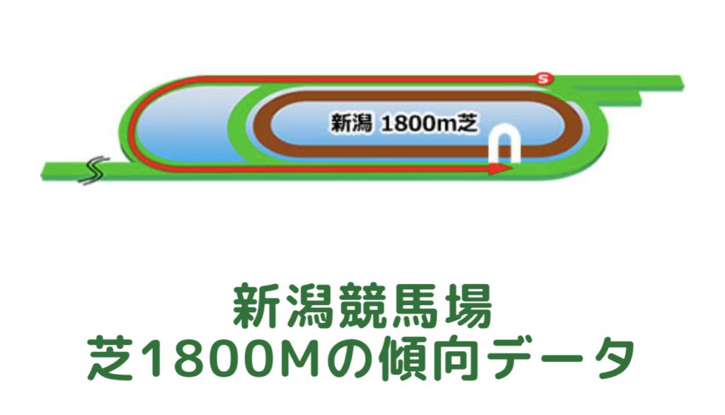新潟競馬場|芝1800mの傾向データ(血統・枠・騎手・タイム・人気・脚質)
