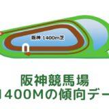 阪神競馬場|芝1400mの傾向データ(血統・枠・騎手・タイム・人気・脚質)