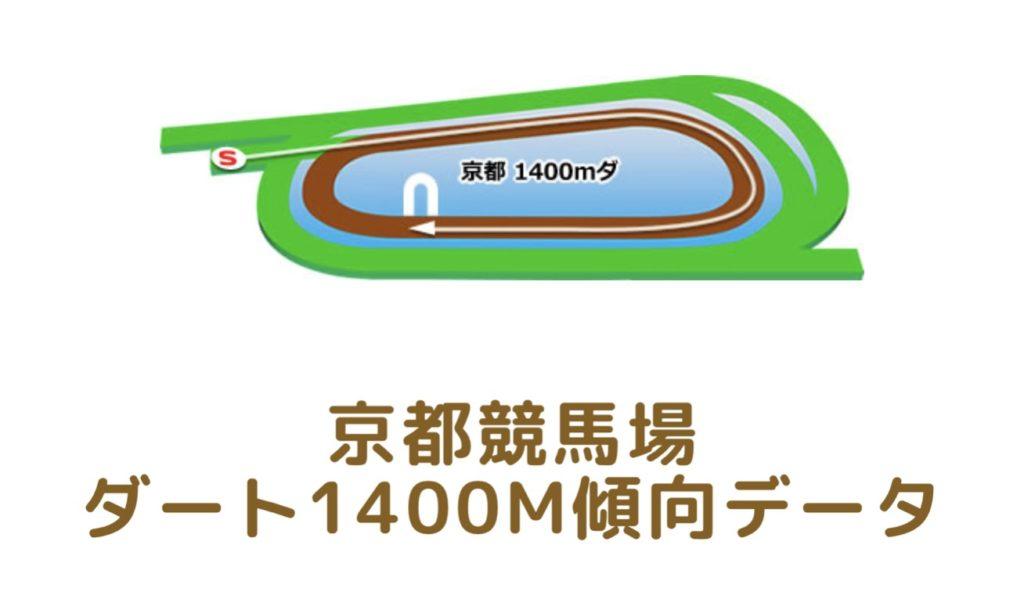 京都競馬場|ダート1400mの傾向データ(血統・枠・騎手・タイム・人気・脚質)