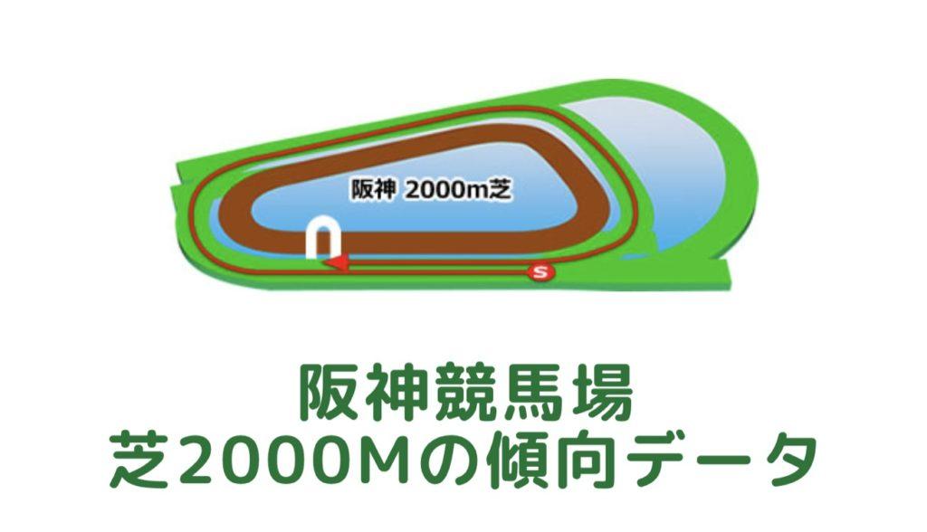 阪神競馬場|芝2000mの傾向データ(血統・枠・騎手・タイム・人気・脚質)