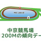 中京競馬場|芝1200mの傾向データ(血統・枠・騎手・タイム・人気・脚質)
