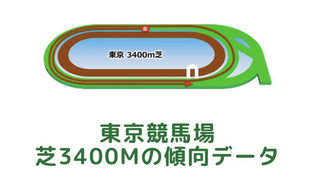 東京競馬場 芝3400mの傾向データ(血統・枠・騎手・タイム・人気・脚質)