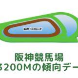 阪神競馬場|芝3200mの傾向データ(血統・枠・騎手・タイム・人気・脚質)
