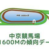 中京競馬場|芝1600mの傾向データ(血統・枠・騎手・タイム・人気・脚質)