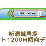 新潟競馬場|ダート1200mの傾向データ(血統・枠・騎手・タイム・人気・脚質)