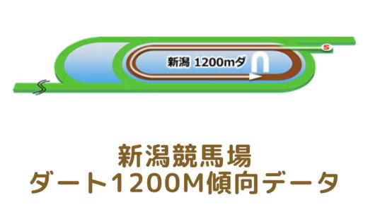 新潟ダート1200mの傾向データと特徴[2021年版]