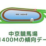 中京競馬場|芝1400mの傾向データ(血統・枠・騎手・タイム・人気・脚質)