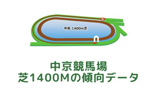 中京芝1400mの傾向データと特徴[2021年版]