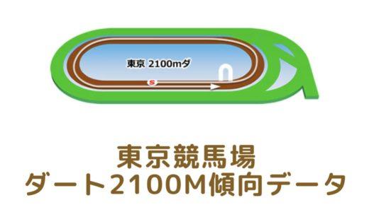 東京ダート2100mの傾向データと特徴[2021年版]