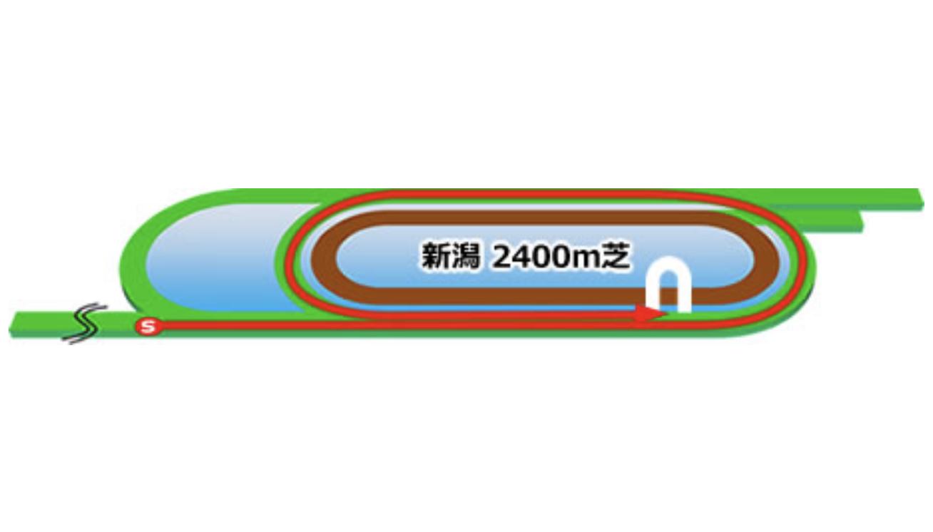【新潟】芝2400m(内)コースイメージ