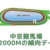中京競馬場|芝2000mの傾向データ(血統・枠・騎手・タイム・人気・脚質)