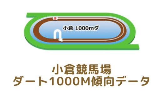 小倉ダート1000mの傾向データと特徴[2021年版]