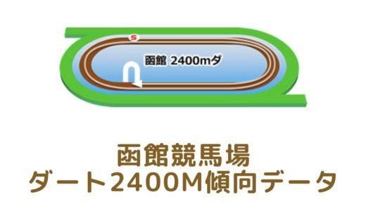 函館ダート2400mの傾向データと特徴[2021年版]