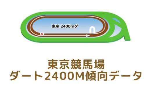 東京ダート2400mの傾向データと特徴[2021年版]
